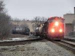 CN M396 Right before 2331 took a dump