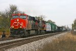 CN 397 West at Durand.