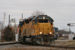 2 UP SD45s, now SD40M-2s on train 770 at Durand.