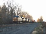 CSX 5207 along side of Q382/ BNSF 6626