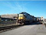 CSX 7526, CSX 8441, ALCX 8534 Alongside MTA 2007