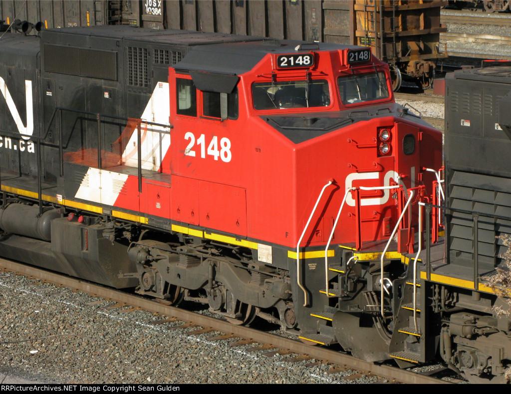 CN GE C40-8W 2148