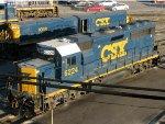 CSXT EMD GP40-2 6224