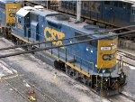 CSXT EMD GP38-2 2793