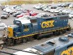 CSXT EMD GP38-2 2609