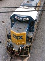 CSXT EMD GP40-2 6954