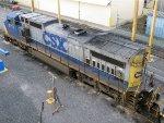CSXT GE C40-8W 7777
