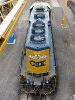 CSXT EMD GP40-2 6222