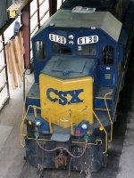 CSXT EMD GP40-2 6130