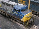 CSXT GE AC4400CW 601, The Spirit of Waycross