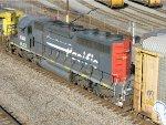 HLCX EMD SD40-2 6341