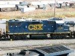 CSXT EMD GP38-2 2620