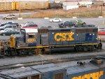 CSXT EMD GP40-2 6203