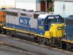 CSXT EMD GP38-2S 4442