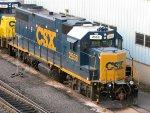 CSXT EMD GP38-2 2558