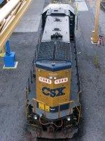 CSXT EMD GP15-1 1545