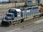 HLCX EMD SD40-2 7192