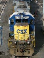 CSXT EMD SD40-2 8482