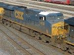 CSXT GE ES40DC 5369