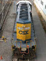 CSXT EMD SD40-2 8388