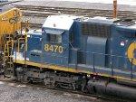 CSXT EMD SD40-2 8470