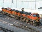 BNSF GE C44-9W's