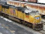 UP EMD SD70M 3955