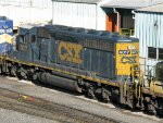CSXT EMD SD40-3 4017