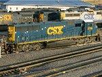CSXT EMD SD60M 8756