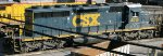 CSXT EMD SD40-3 4015