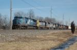CSX train Q349