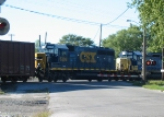 CSX 6398 crosses Columbus avenue