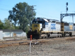 CSX 8400 goes north