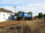 CSX 8867 goes north