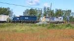 CSX 8030 departs the yard