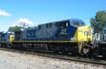 CSX 515 third unit on train number one