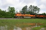 BNSF Coal Train heads south at Pinson
