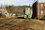 Christmas season in Bryson City on the Great Smokey Mountain Railroad