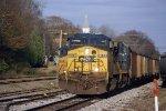 CSX K223 Coke train WB approaches the depot