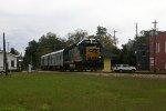 Inspection train at Grantville