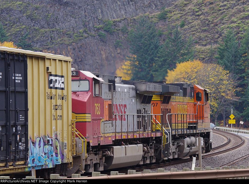 BNSF 4407 West
