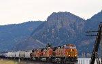 Westbound Freight along WA14