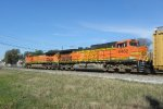 BNSF 5495 and BNSF 4482