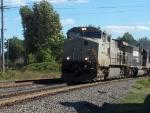 NS 9954 leads an intermodal
