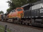 BNSF 5665 runs by