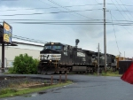 NS 9592 and 8940 head west