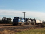 NS 8417 leads an intermodal