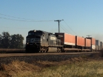 NS 9451 leads an intermodal