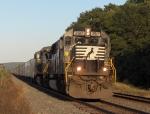 NS 2517 leads an intermodal
