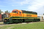 BNSF 8018 at Mid American Car